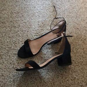 H&M chunky heel sandal pumps